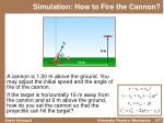 simulation how to fire the cannon