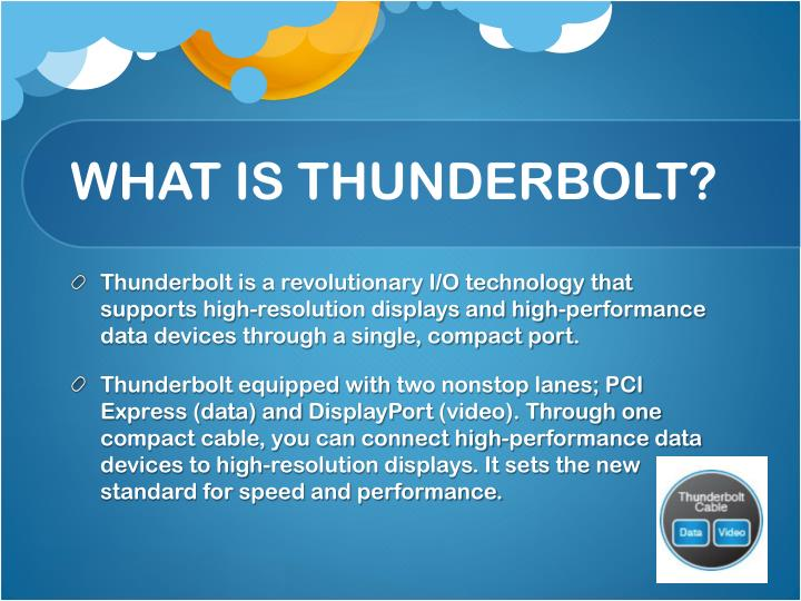 What is thunderbolt