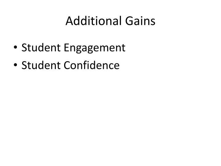 Additional Gains