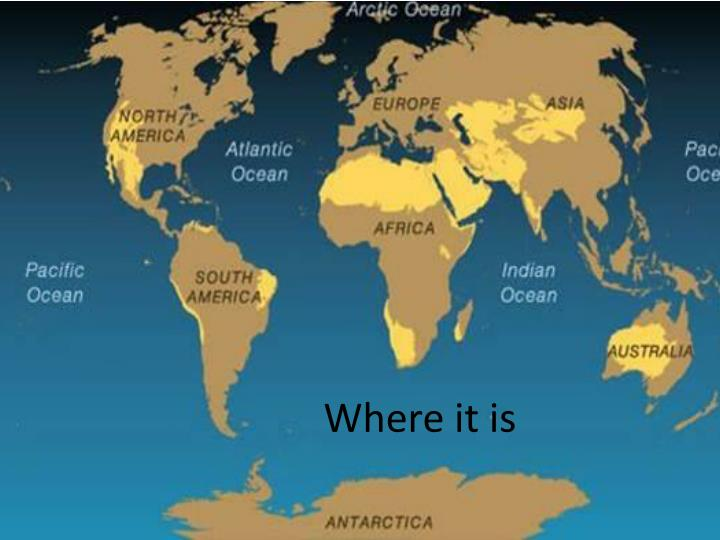 Where it is