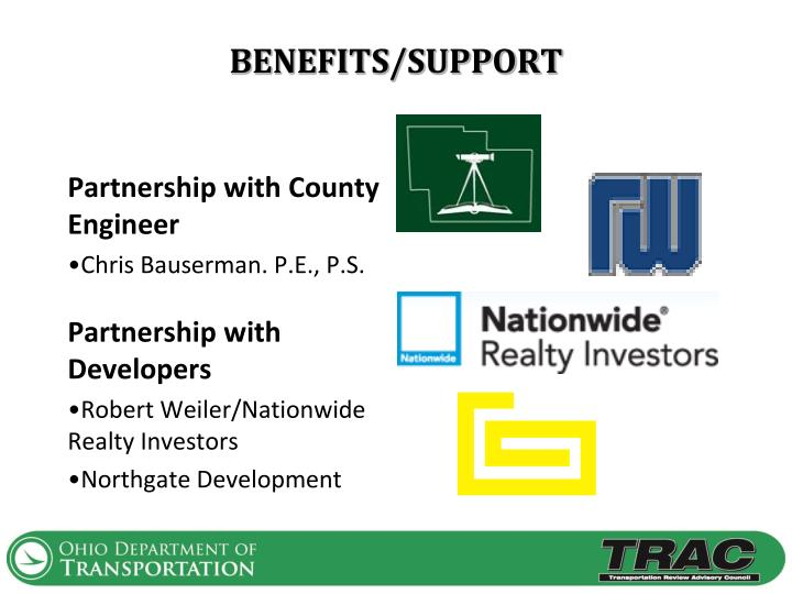 BENEFITS/SUPPORT