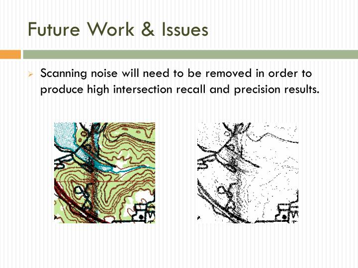 Future Work & Issues
