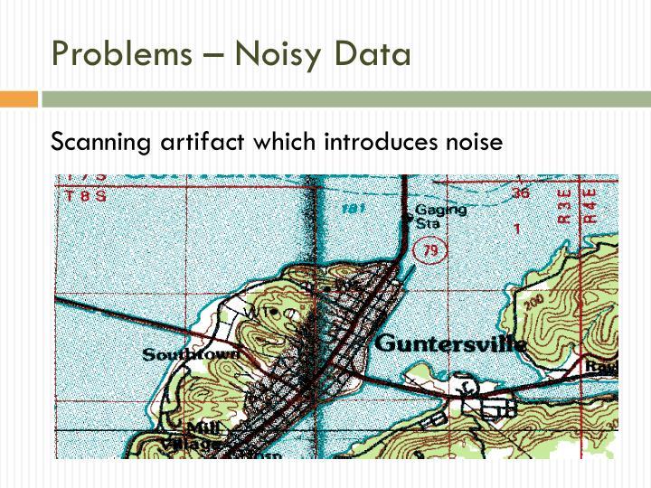 Problems – Noisy Data