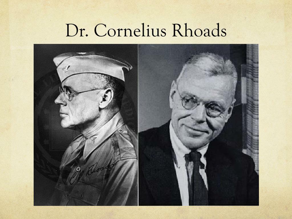 https://image1.slideserve.com/2493804/dr-cornelius-rhoads-l.jpg