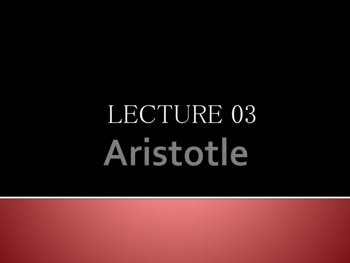 lecture 03 n.