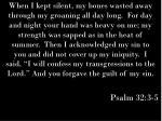 psalm 32 3 5