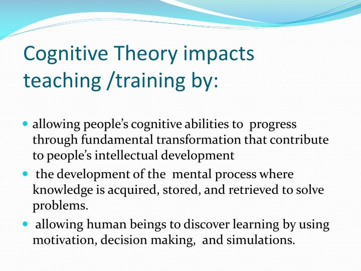 cognitive behavioral theory The theory behind mbt is that people with bpd have a weak ability to mentalize compared to other forms of psychotherapy such as cognitive-behavioral therapy.