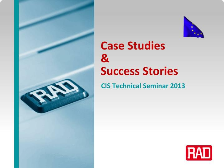 Case studies success stories