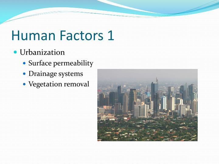 Human Factors 1