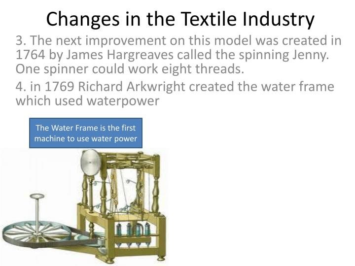 PPT - A. Changes in the Textile Industry PowerPoint Presentation ...