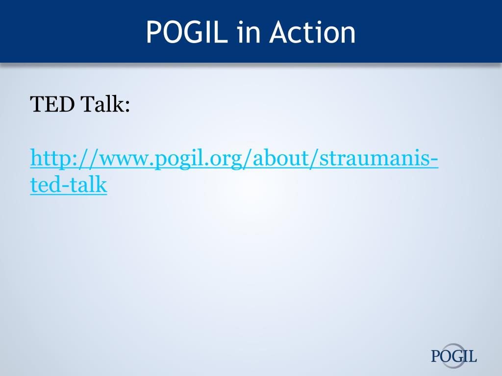 PPT - Introduction to POGIL PowerPoint Presentation, free ...