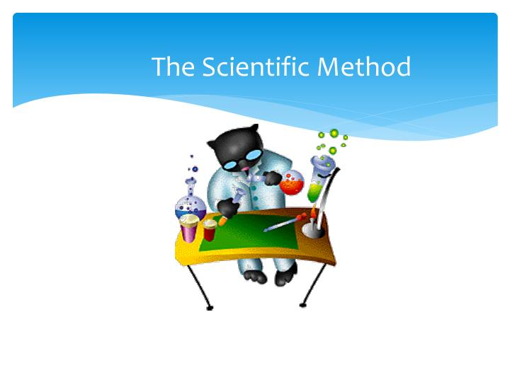the scientific method n.