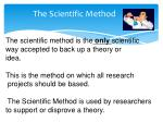 the scientific method1