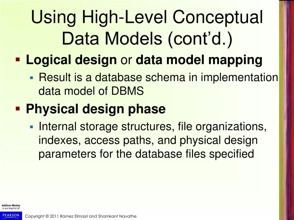 PPT - Chapter 7 Data Modeling Using the Entity-Relationship