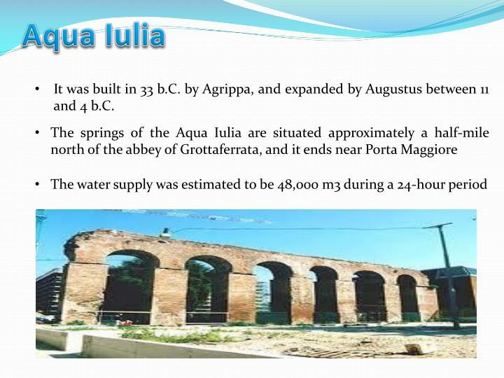 Aqua Iulia