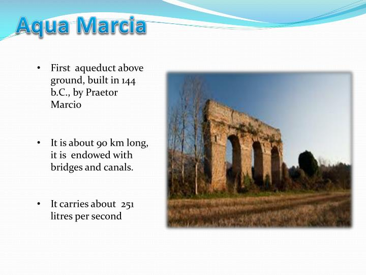 Aqua Marcia