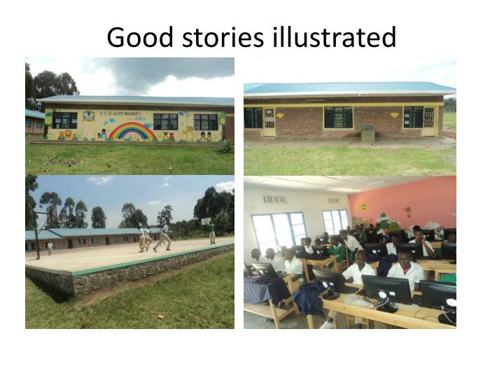 Good stories illustrated