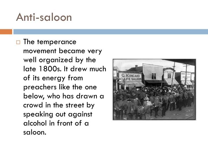 Anti-saloon