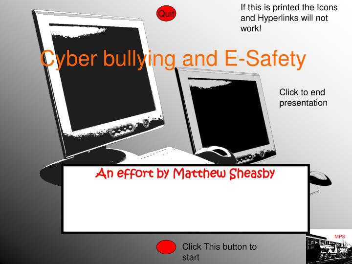 cyber bullying and e safety