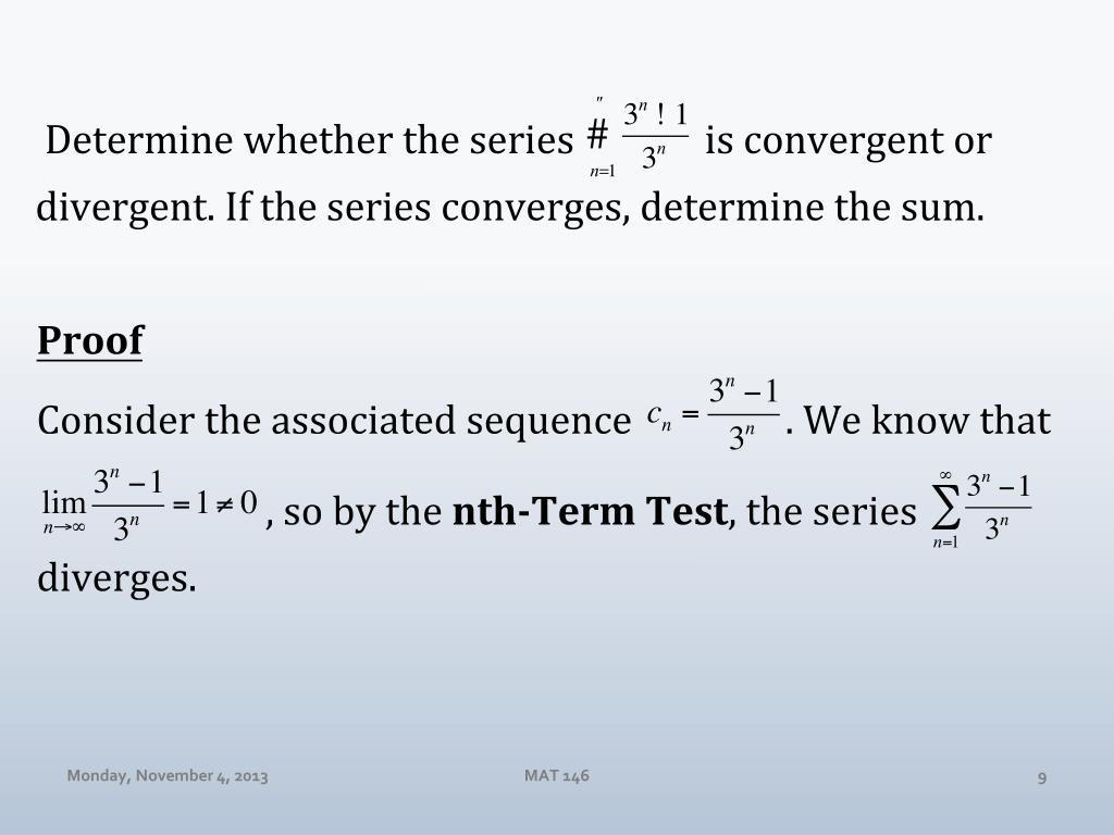 PPT - Calculus II (MAT 146) Dr  Day Monday Nov 4, 2013