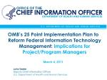 john teeter deputy chief information officer u s department of health and human services