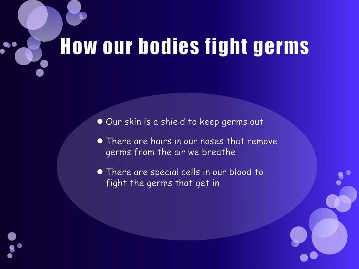How our bodies fight germs
