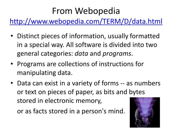 From Webopedia