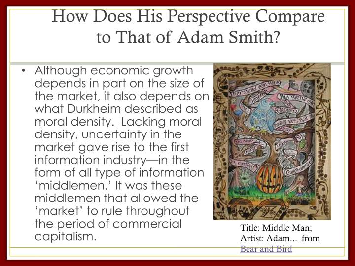 How Does His Perspective Compare to That of Adam Smith?