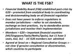 what is the fsb