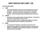 why should we care 2