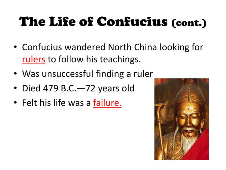 the biography of confucius and inception of confucianism in china Confucius: confucius, china's most famous teacher nor is the term confucianism biography of confucius.