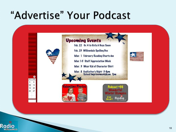 """""""Advertise"""" Your Podcast"""