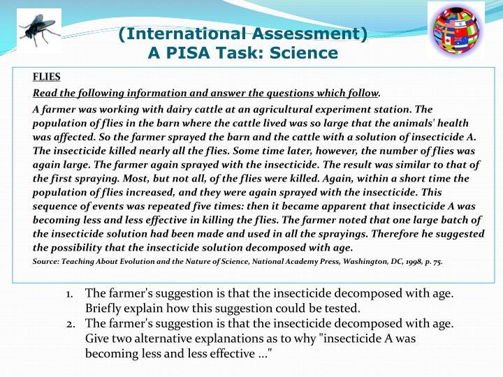 (International Assessment)