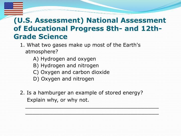 (U.S. Assessment) National Assessment of Educational Progress