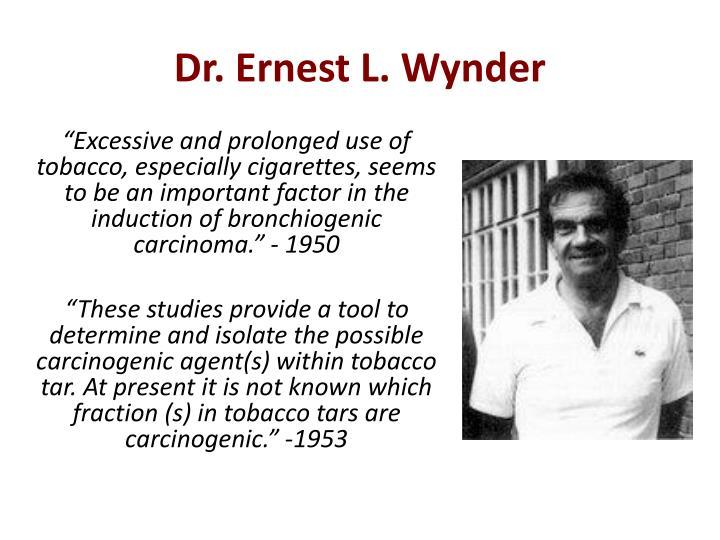 Dr. Ernest L.