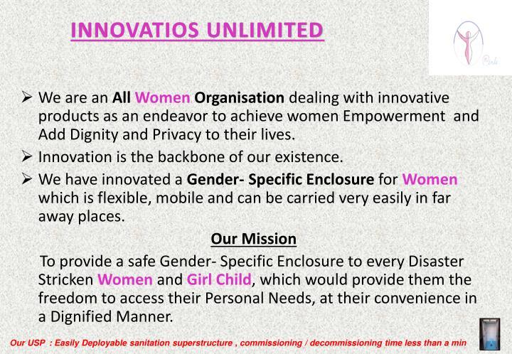 Innovatios unlimited