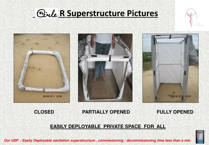 R Superstructure Pictures