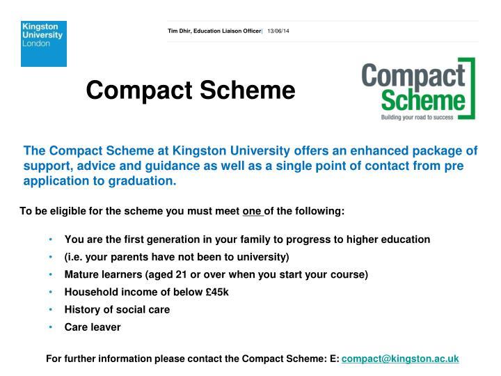 Compact Scheme