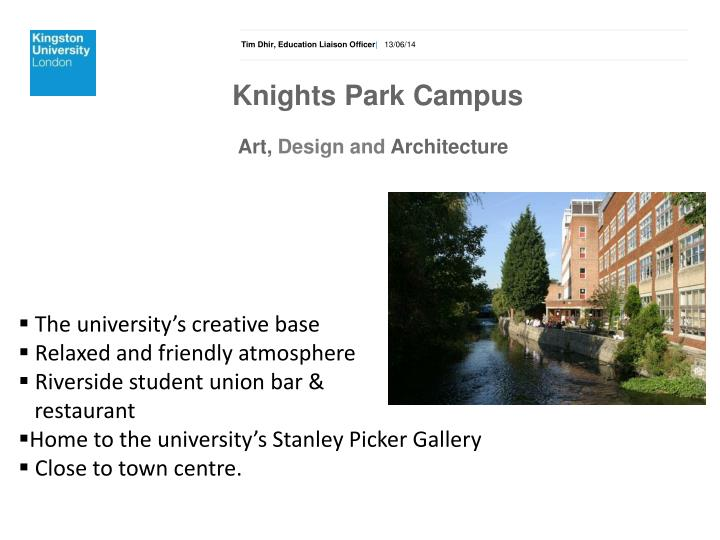 Knights Park Campus