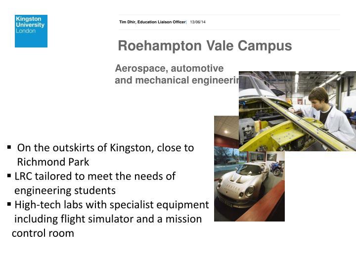 Roehampton Vale Campus