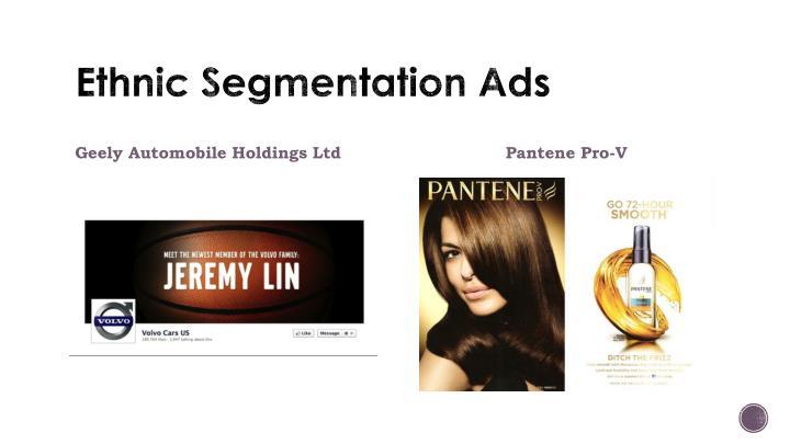 Ethnic Segmentation Ads