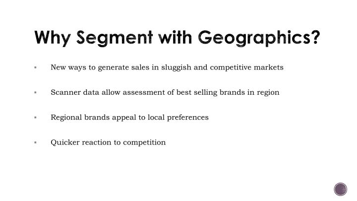 Why Segment with
