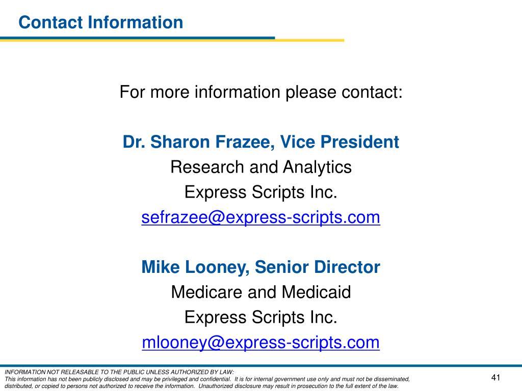 PPT - Factors Influencing Prescription Drug Trend within