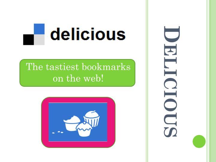 The tastiest bookmarks