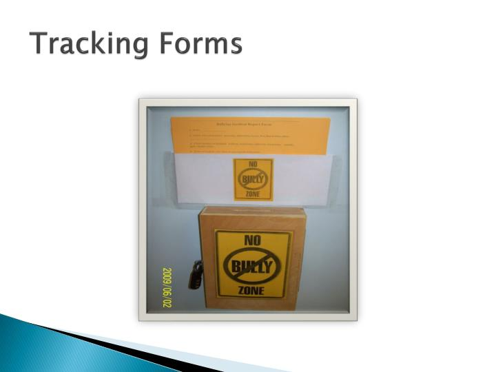 Tracking Forms