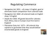 regulating commerce