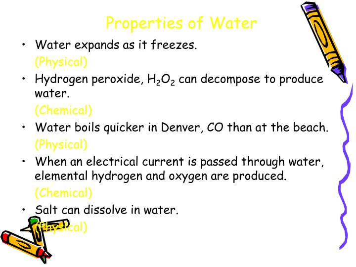 when water freezes is it a physical or chemical change Classify the following changes as physical or chemical water freezes at 0 from physical s 1401 at trinity valley community college.