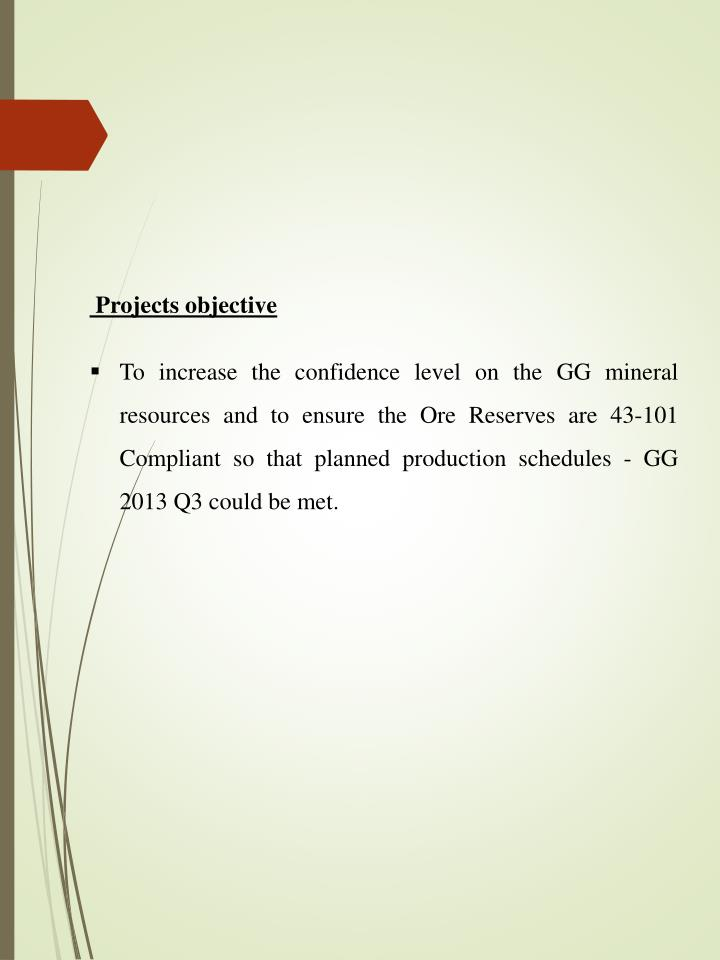 Projects objective