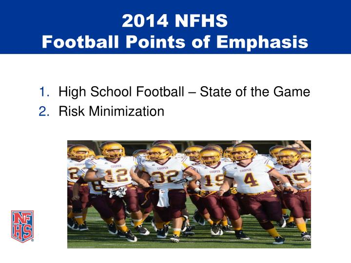 2014 NFHS