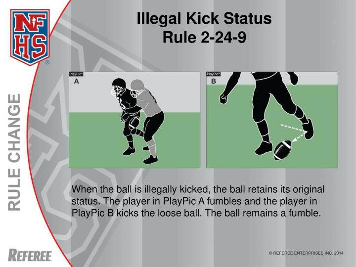Illegal Kick Status